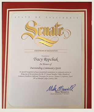 Assembly Outstanding Community Spirit Award